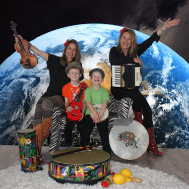 Sing, Shake & Shimmy All Around the Earth! Kids House of Joy