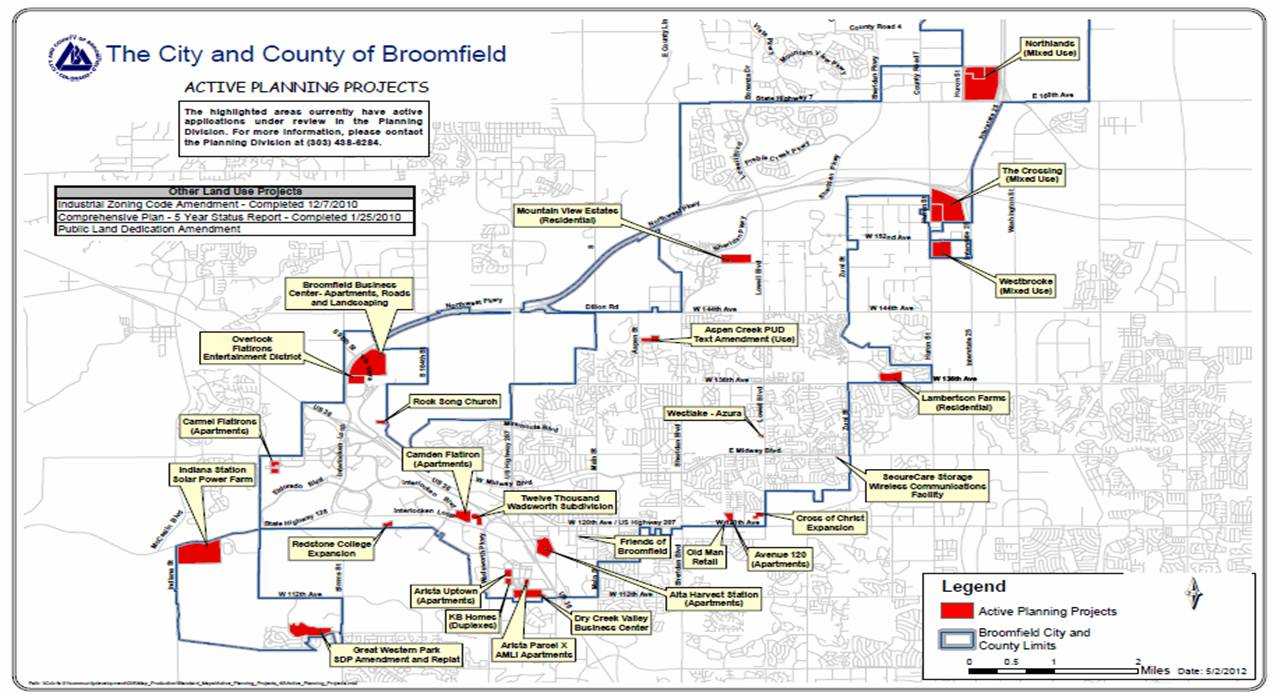 Current Projects | City and County of Broomfield   Official Website