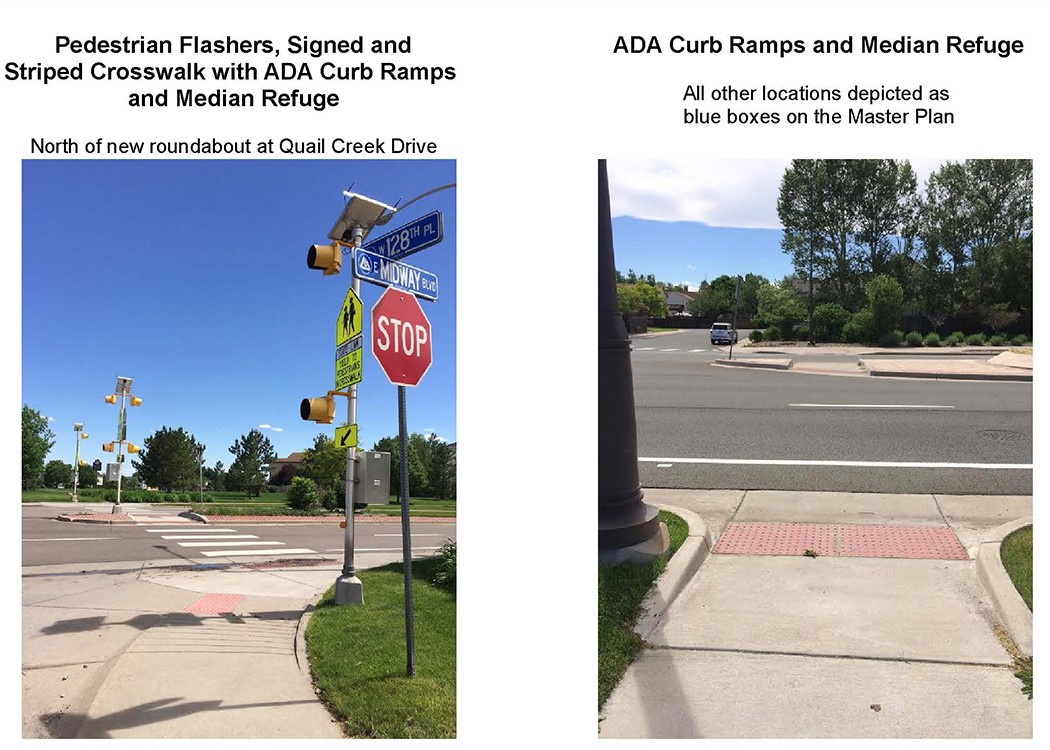 Proposed Pedestrian Improvements