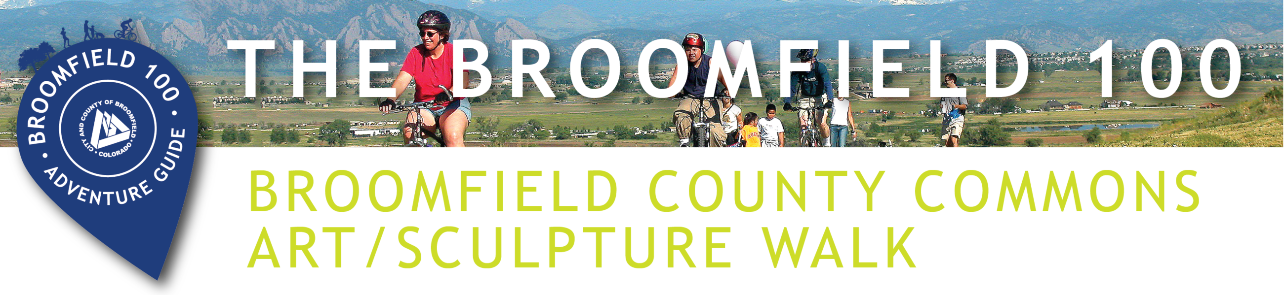 Broomfield County Commons Art and Sculpture Walk