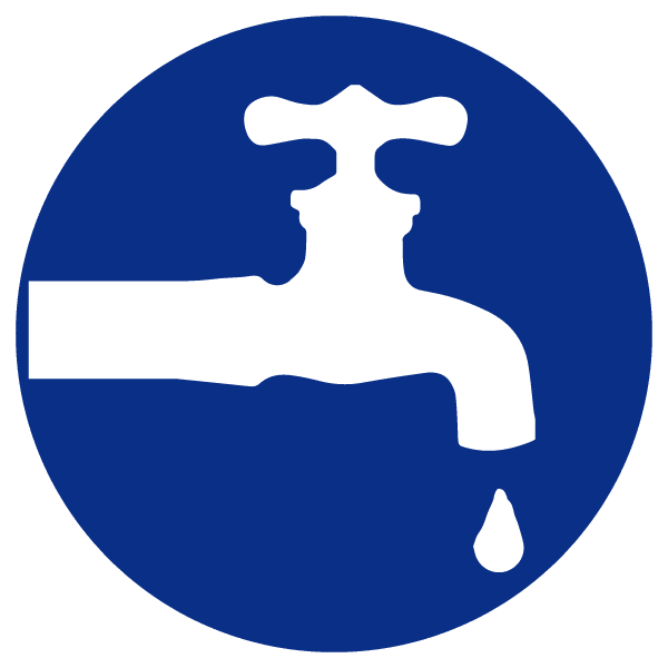 blue heading icons_faucet