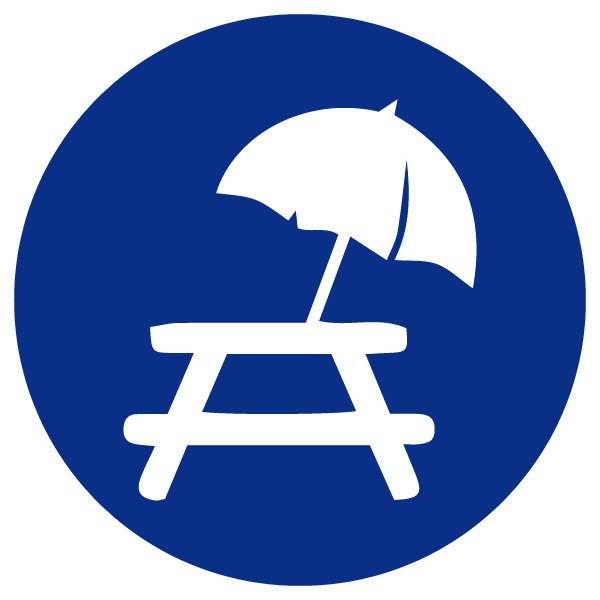 blue heading icons_picnic table