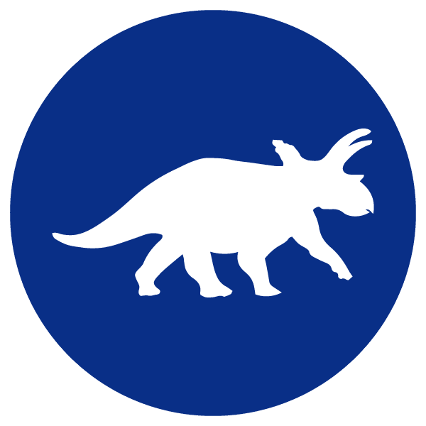 blue heading icons_triceratops