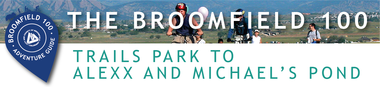 2018 Broomfield 100 loops web banners_trails park alexx and michaels pond