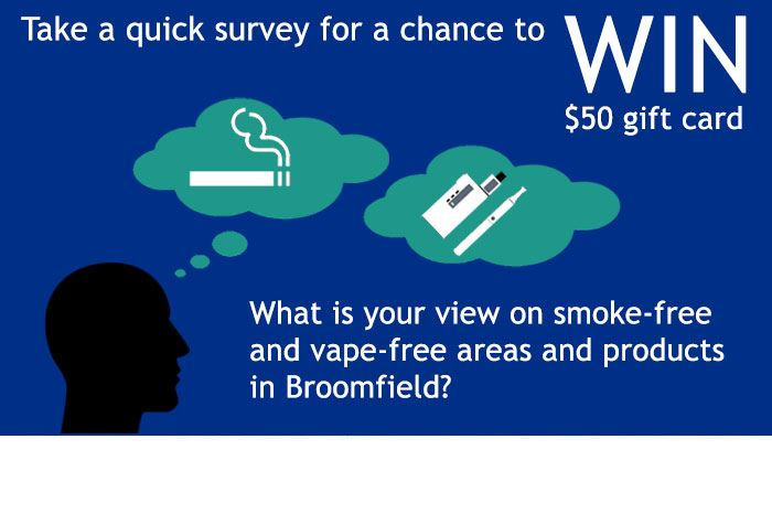 Smoke-free and vape-free community survey