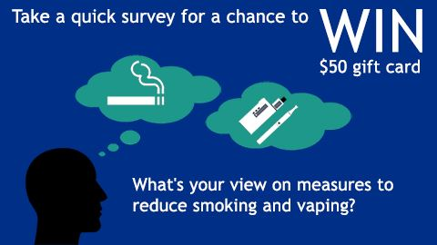 Tobacco and Vaping Survey
