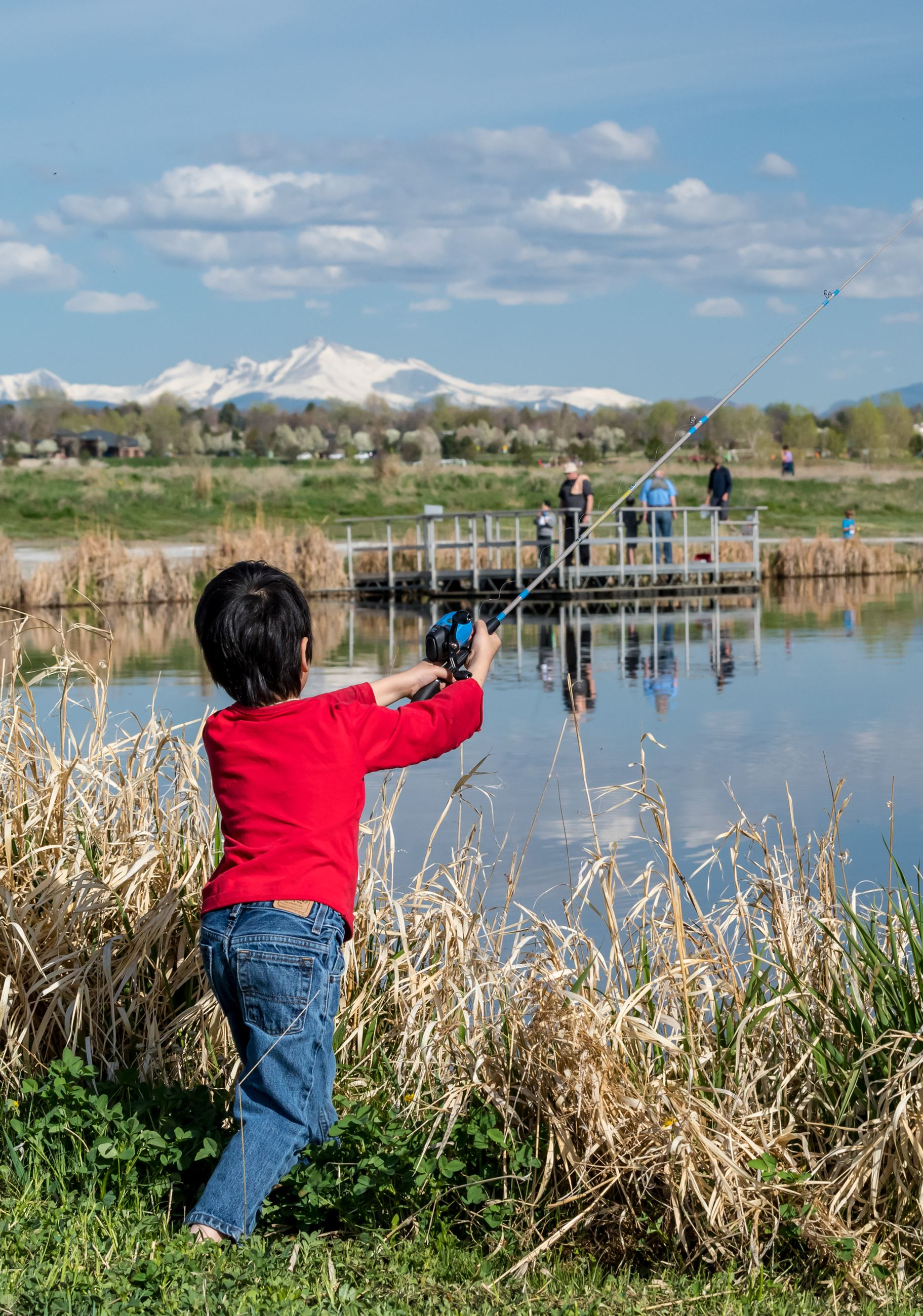 2019 Kids Fishing Derby- Child with trout