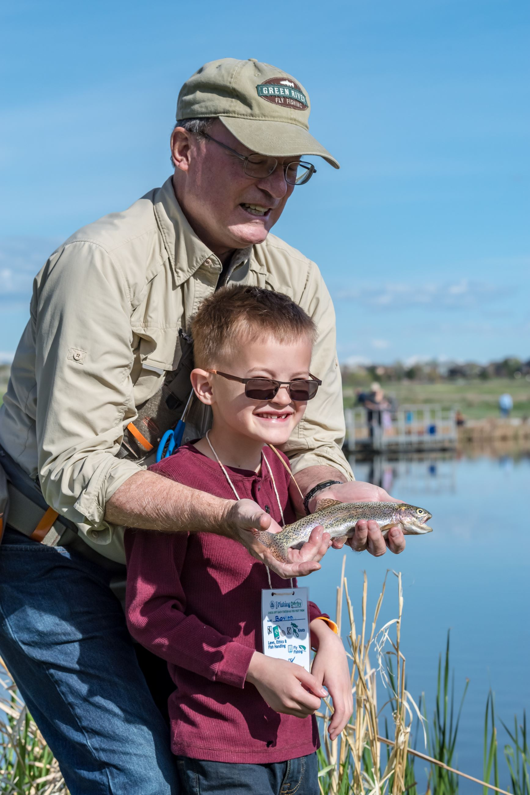 2019 Kids Fishing Derby- Along the shore