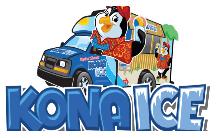 Kona Ice Logo and website link