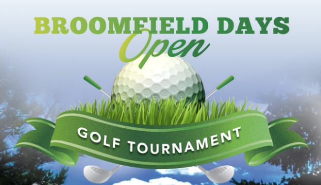 2019 Broomfield Days Golf graphic