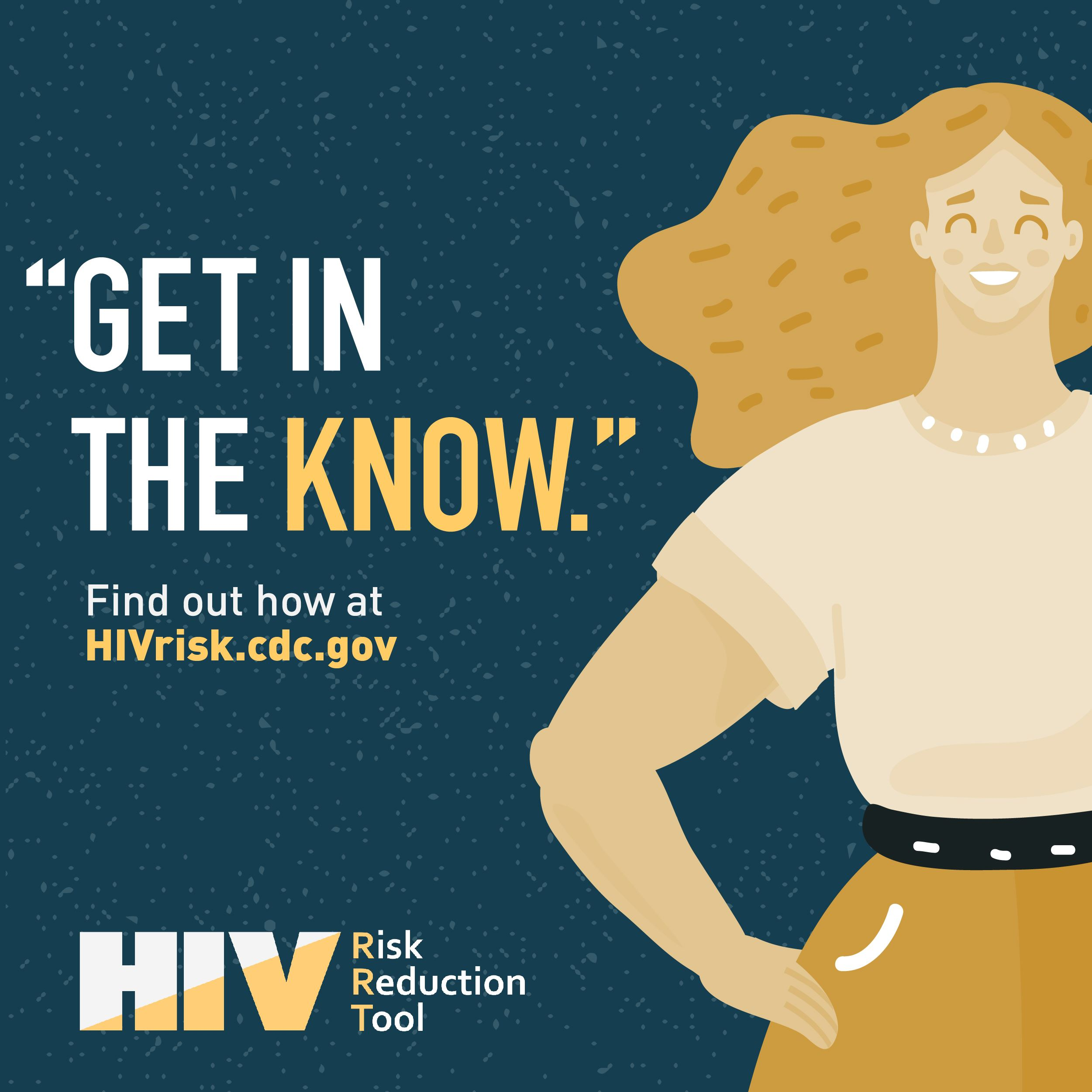 CDC HIV Get in the Know