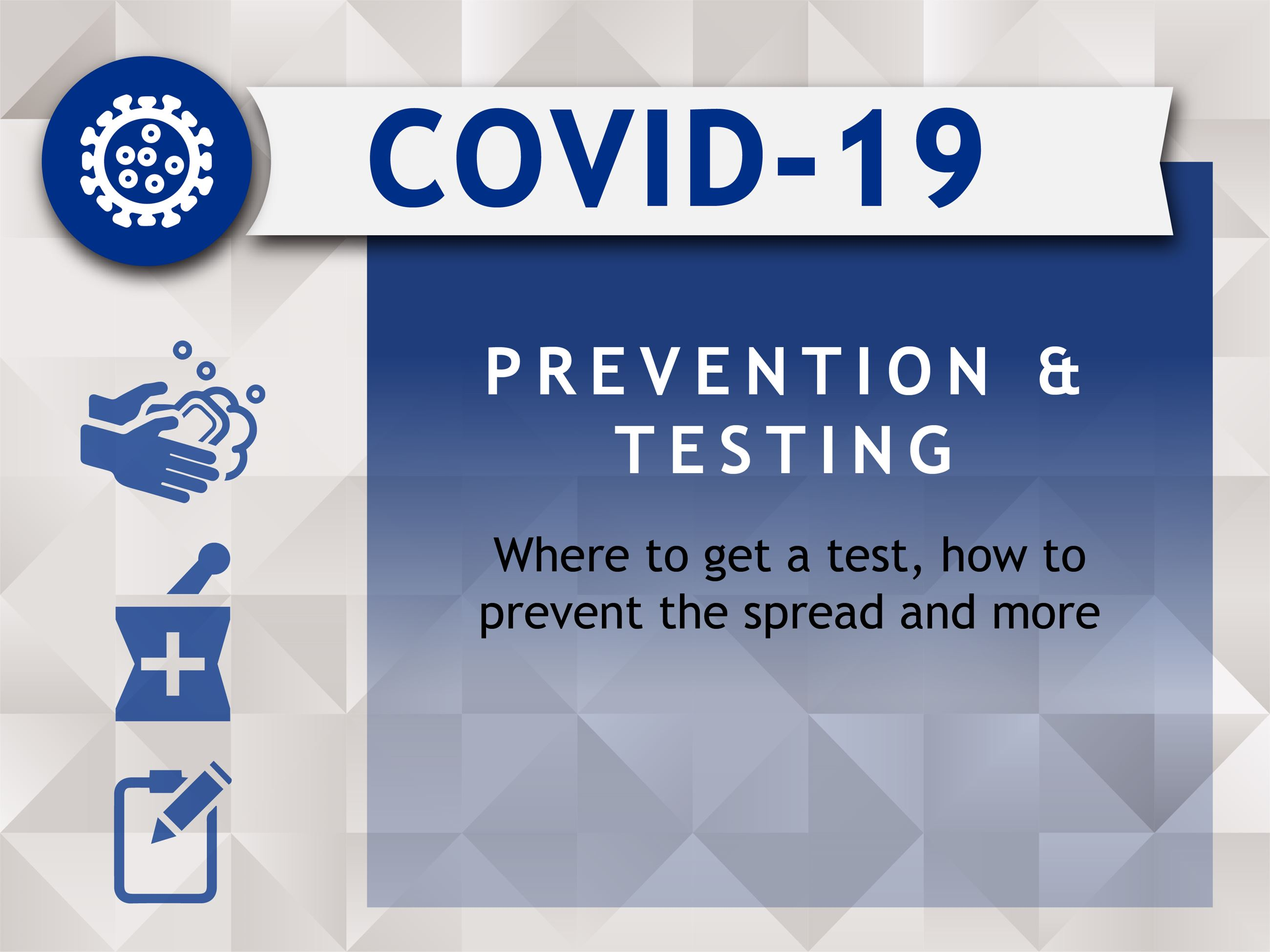 COVID-19 web images_PreventionTesting