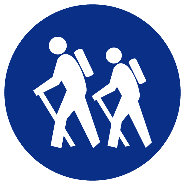 blue heading icons_hike