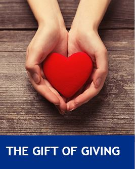 The Gift of Giving Volunteering