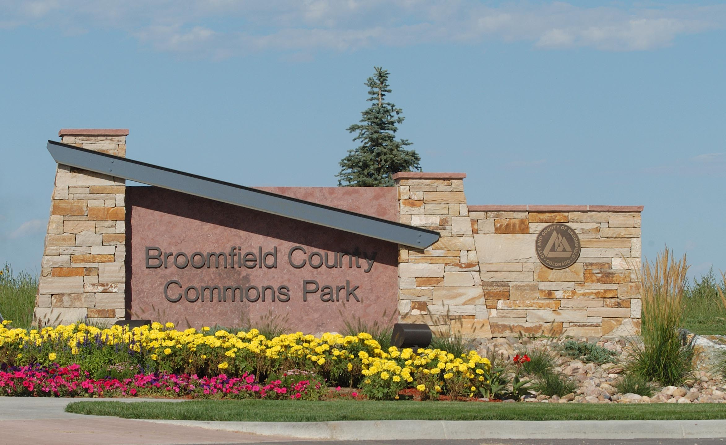 Broomfield County Commons Park Sign