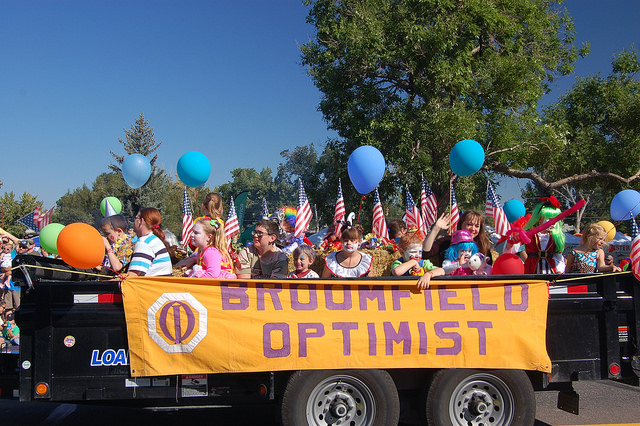 Optimist Float