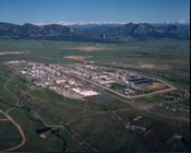 Rocky Flats site before closure