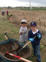 Cub Scout volunteers