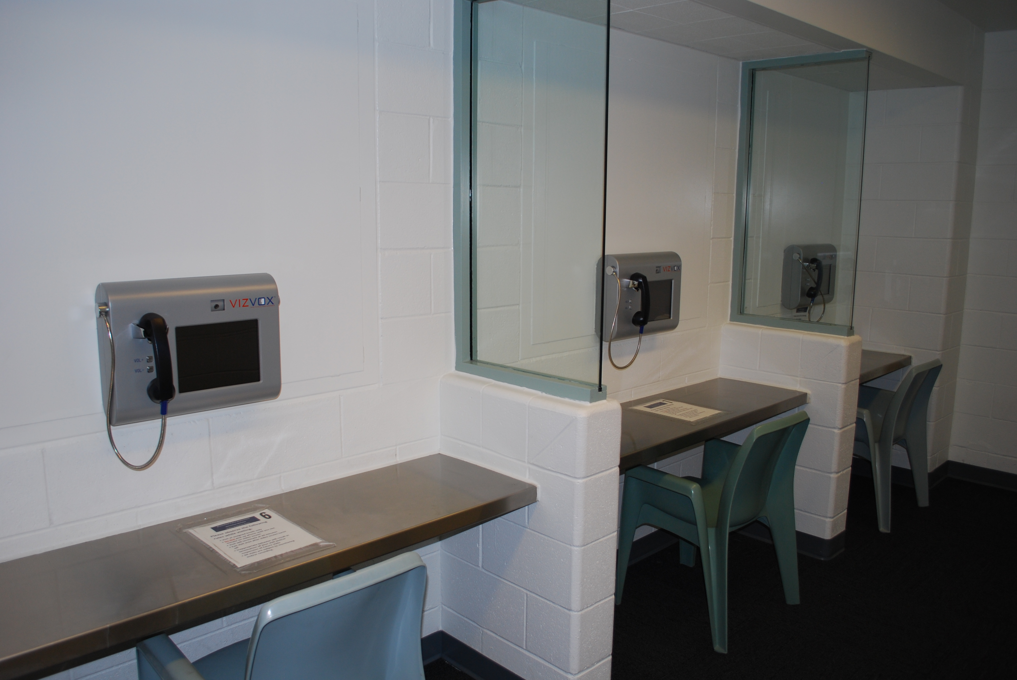 Video Visitation Room