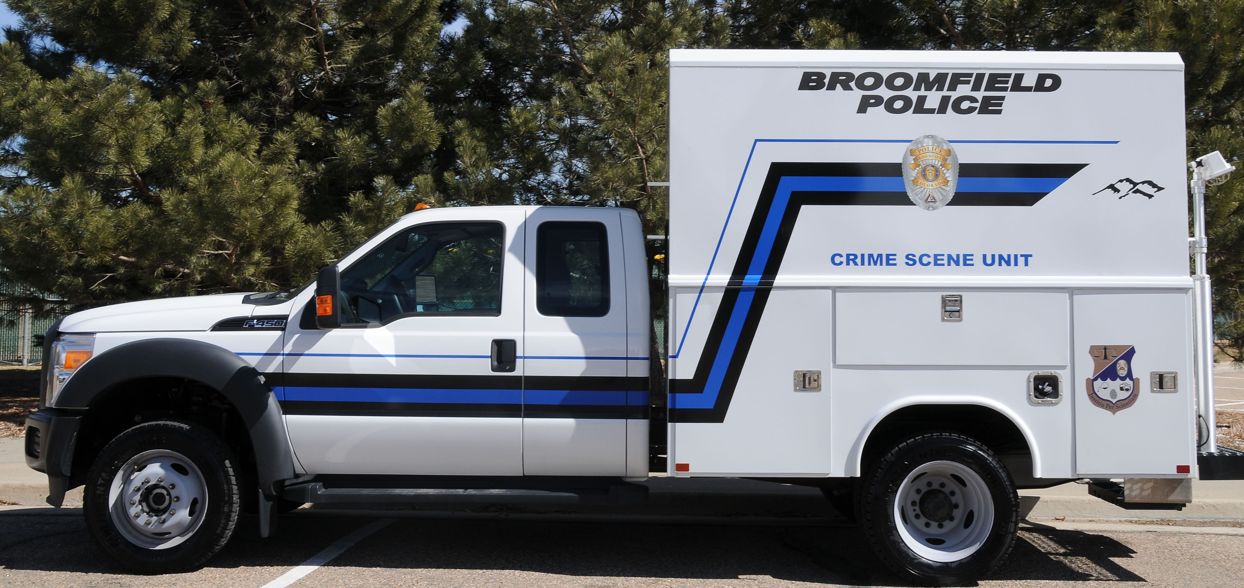 Crime Scene Investigations Vehicle