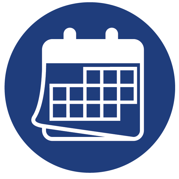 Calendar Icon Blue : City and county of broomfield official website