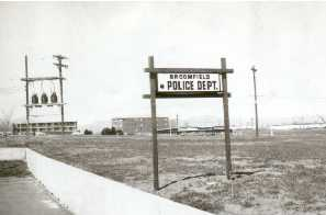Police Department Sign 1970