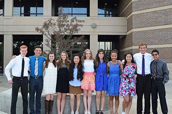 Teen Council Members