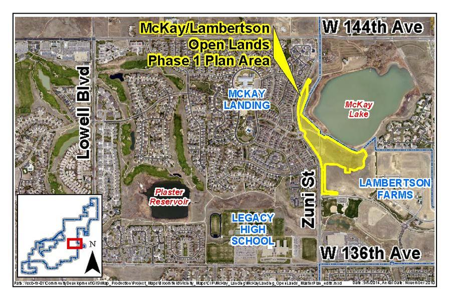 McKay-Lambertson Phase 1 Plan area