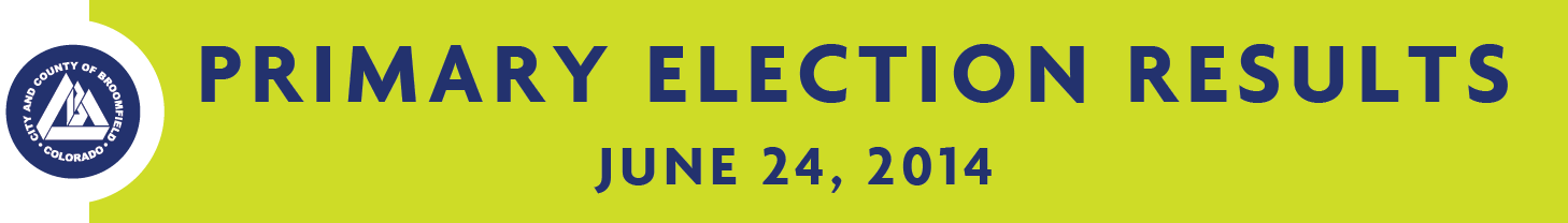 Primary Election Banner