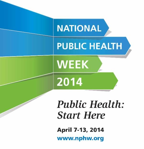 National Public Health Week 2014 Logo