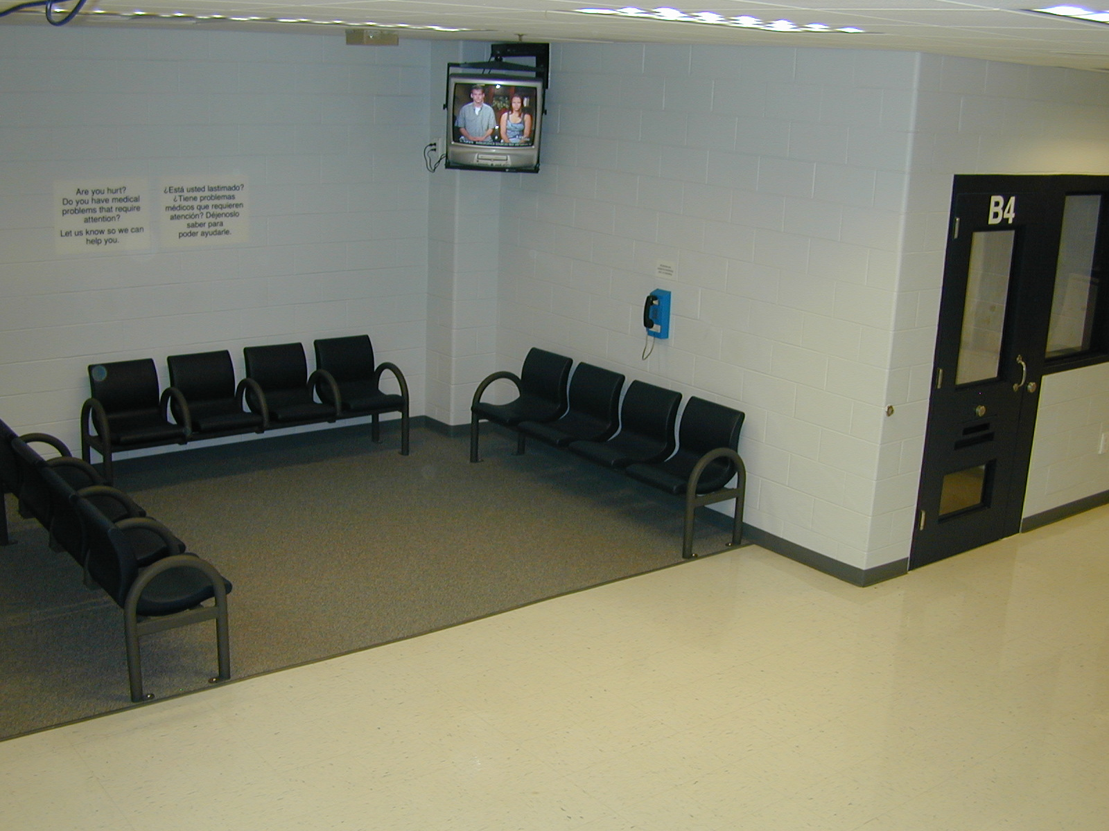 Booking Waiting Area