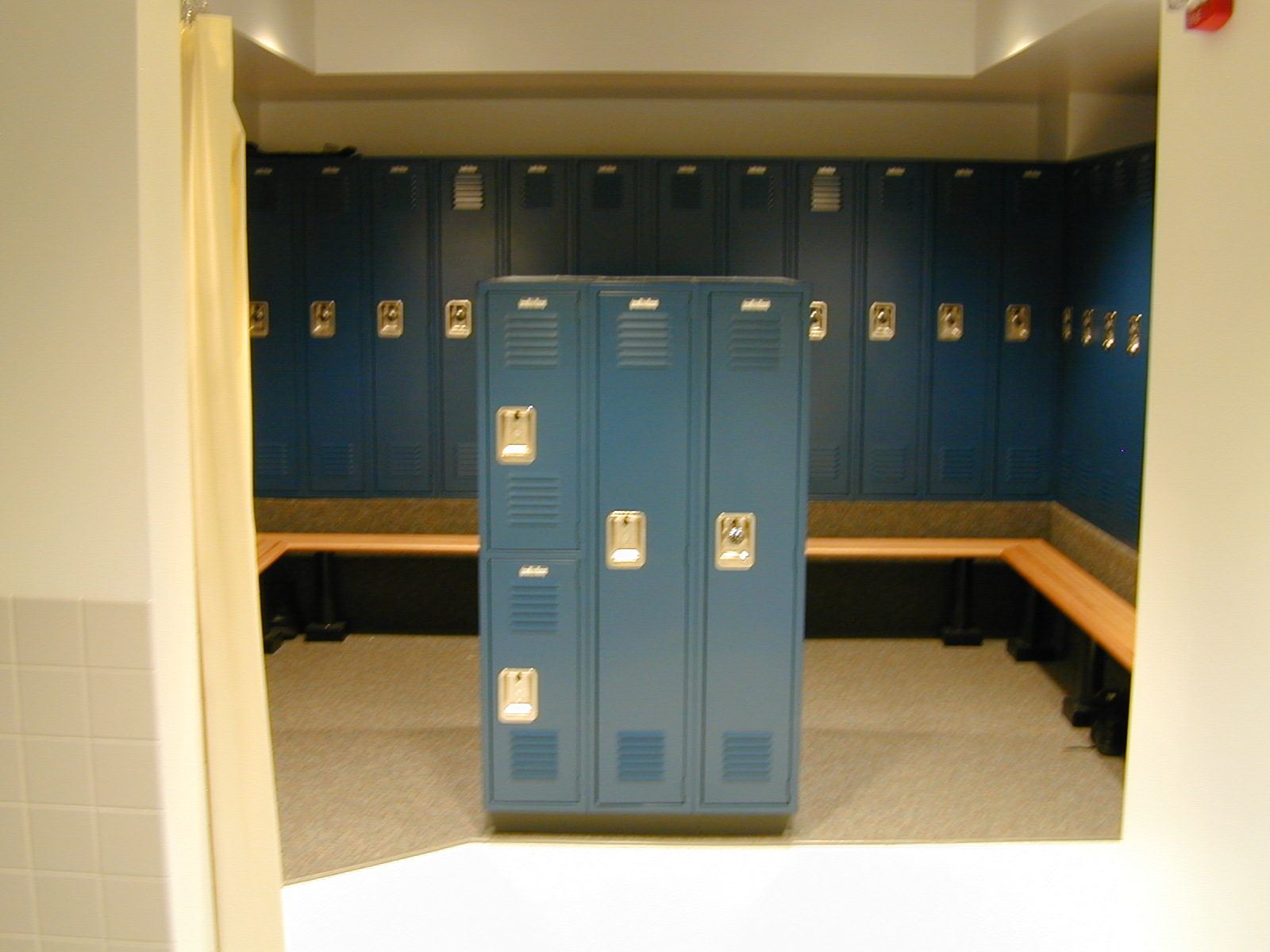 Employee Locker Room